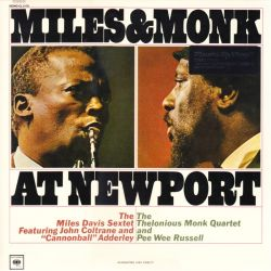 DAVIS, MILES & THELONIOUS MONK - MILES & MONK AT NEWPORT (1 LP) - MOV MONO EDITION - 180 GRAM PRESSING