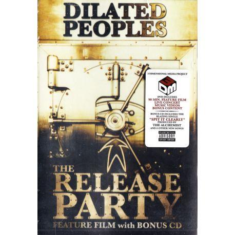 DILATED PEOPLES - THE RELEASE PARTY (DVD+CD) - WYDANIE AMERYKAŃSKIE