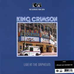 KING CRIMSON - LIVE AT THE ORPHEUM: THE ELEMENTS TOUR 2014 (1 LP) - 200 GRAM PRESSING