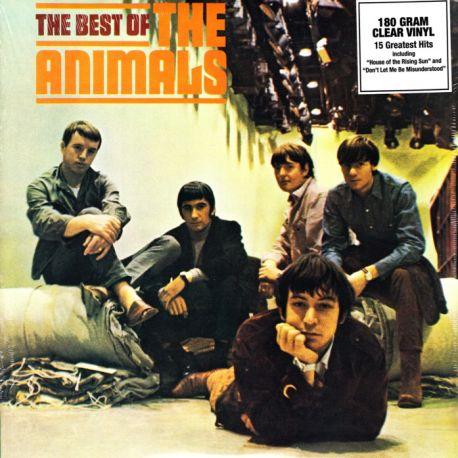 ANIMALS, THE - THE BEST OF THE ANIMALS (1 LP) - 180 GRAM CLEAR VINYL PRESSING - WYDANIE AMERYKAŃSKIE