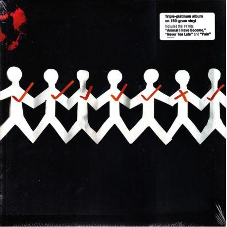 THREE DAYS GRACE - ONE-X (1 LP) - LEGACY EDITION - WYDANIE AMERYKAŃSKIE