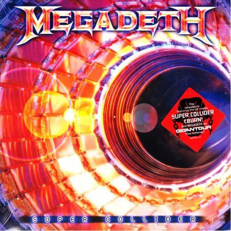 MEGADETH – SUPER COLLIDER (1LP+MP3 DOWNLOAD) - 180 GRAM PRESSING