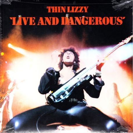 THIN LIZZY - LIVE AND DANGEROUS (2 LP) - WYDANIE AMERYKAŃSKIE
