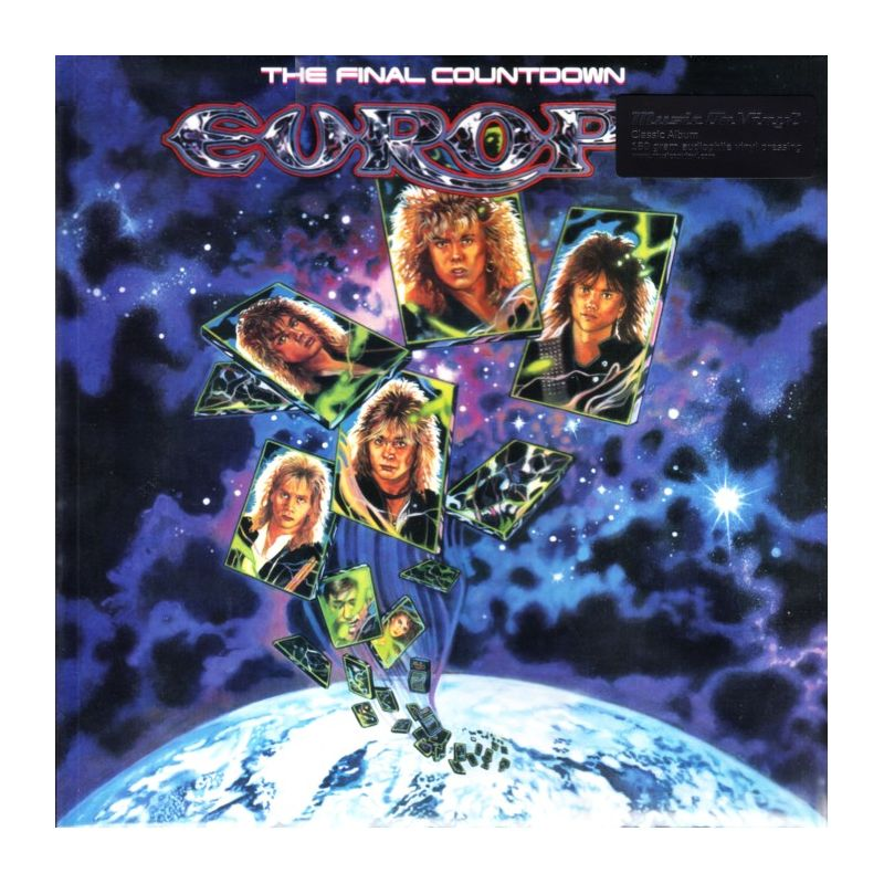 Europe The Final Countdown 1 Lp Mov Edition 180