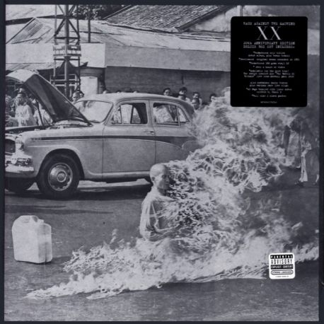 RAGE AGAINST THE MACHINE - RAGE AGAINST THE MACHINE XX (1 LP + 2CCD + 2DVD) - 180 GRAM PRESSING - WYDANIE AMERYKAŃSKIE