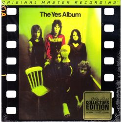 YES - THE YES ALBUM (1 CD) - 24KT GOLD AUDIOPHILE COLLECTORS EDITION CD - WYDANIE AMERYKAŃSKIE