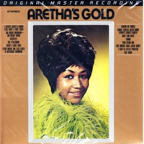 FRANKLIN, ARETHA - ARETHA'S GOLD (2LP) - MFSL EDITION - LIMITED NUMBERED 180 GRAM PRESSING - WYDANIE AMERYKAŃSKIE