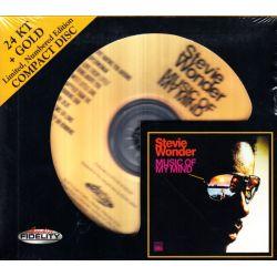 WONDER, STEVIE - MUSIC OF MY MIND (1 CD) - 24KT GOLD HDCD - WYDANIE AMERYKAŃSKIE