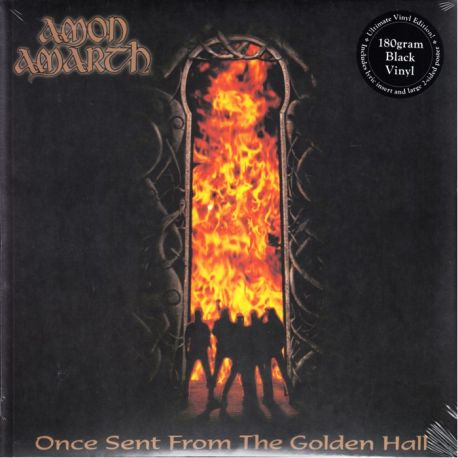 AMON AMARTH - ONCE SENT FROM THE GOLDEN HALL (1 LP) - 180 GRAM PRESSING