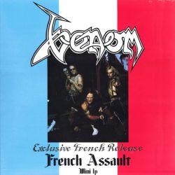 VENOM - FRENCH ASSAULT (1 LP) DELUXE SPLATTER VINYL EDITION