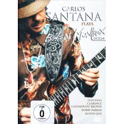 SANTANA, CARLOS - CARLOS SANTANA PLAYS BLUES AT MONTREUX 2004 (1 DVD)