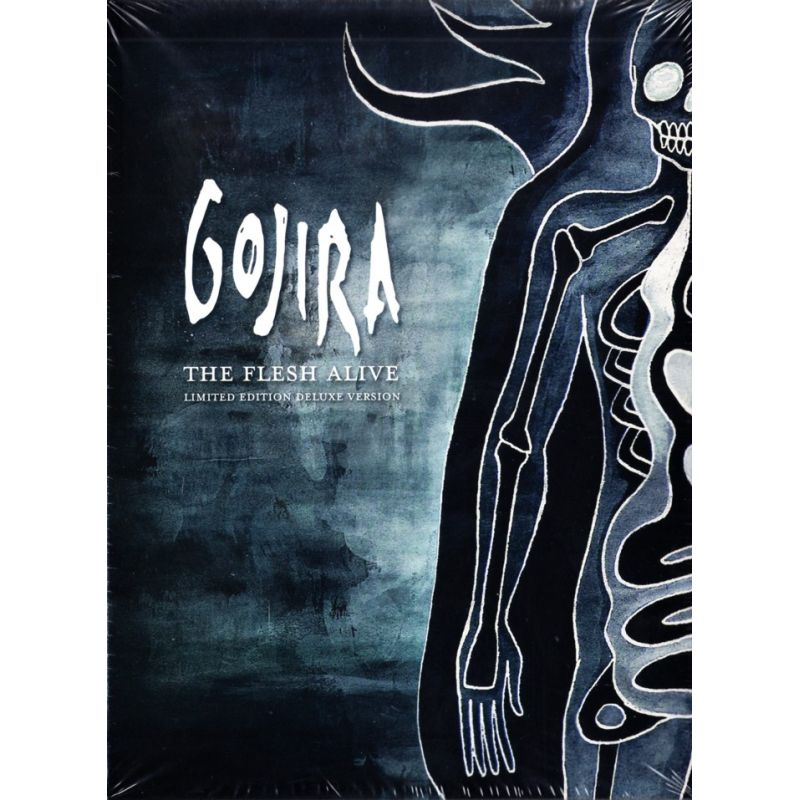 Gojira The Flesh Alive 2 Dvd 1 Cd Limited Edition