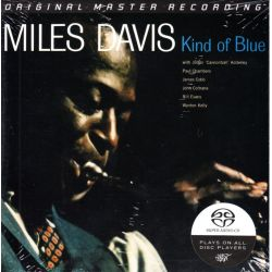 DAVIS, MILES - KIND OF BLUE (1 SACD) - LIMITOWANA, NUMEROWANA EDYCJA MFSL - WYDANIE AMERYKAŃSKIE