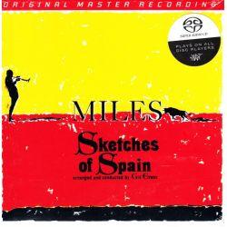 DAVIS, MILES - SKETCHES OF SPAIN (1SACD)(1 SACD) - LIMITED NUMBERED MFSL EDITION - WYDANIE AMERYKAŃSKIE