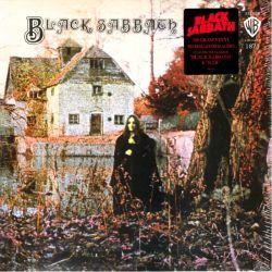 BLACK SABBATH - BLACK SABBATH (1 LP) - LIMITED RED VINYL EDITION - 180 GRAM PRESSING - WYDANIE AMERYKAŃSKIE