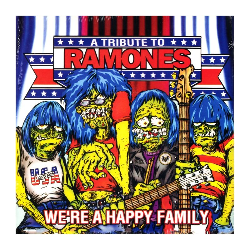 We Re A Happy Family A Tribute To Ramones 2 Lp 45rpm