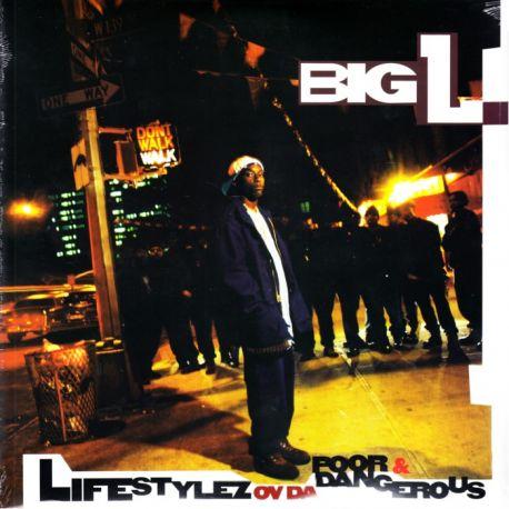 BIG L - LIFESTYLEZ OV DA POOR & DANGEROUS (2 LP) - WYDANIE AMERYKAŃSKIE