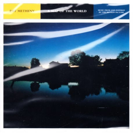 a map of the world mapa świata pat metheny from and inspired by 1 cd