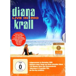 KRALL, DIANA - LIVE IN RIO (1 DVD)