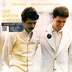 SANTANA, CARLOS & MAHAVISHNU JOHN MCLAUGHLIN - LOVE DEVOTION SURRENDER (1 LP) - 180 GRAM PRESSING