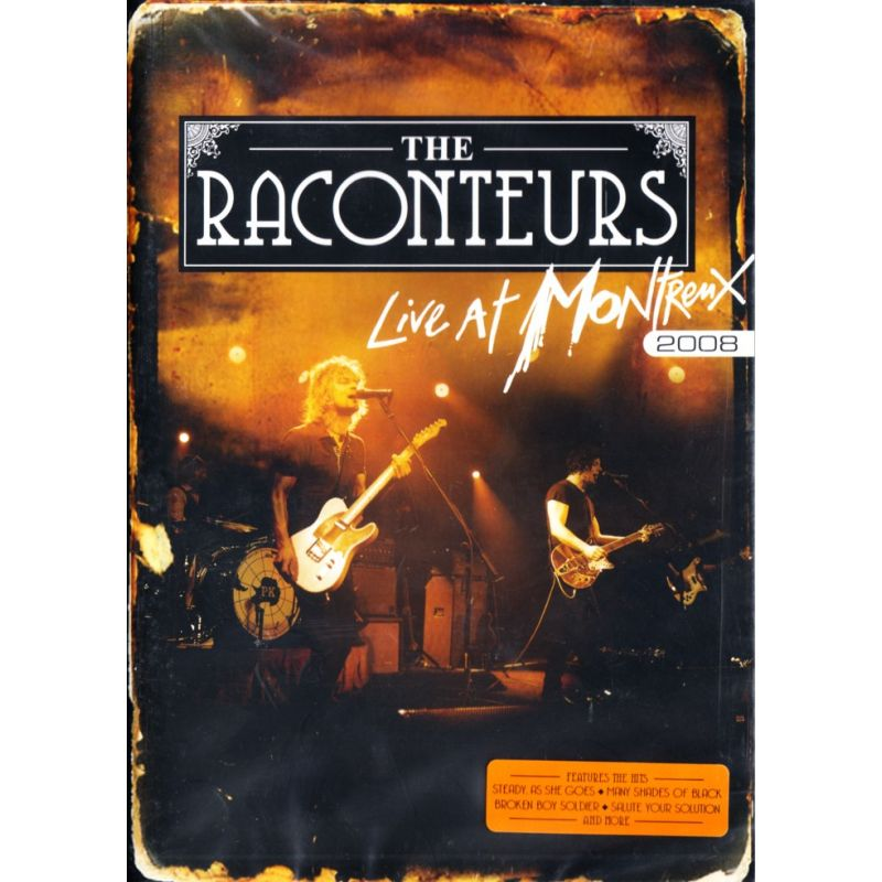 Raconteurs The Live At Montreux 2008 1 Dvd