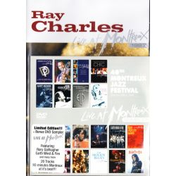 CHARLES, RAY - LIVE AT MONTREUX 1997 + LIVE AT MONTREUX SAMPLER (2 DVD)