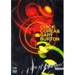 COREA, CHICK & GARY BURTON - LIVE AT MONTREUX 1997 (1 DVD)