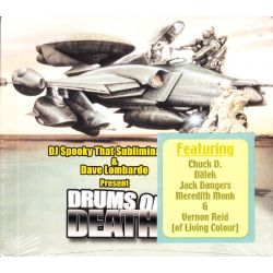 DJ SPOOKY THAT SUBLIMINAL KID & DAVE LOMBARDO - DRUMS OF DEATH (1 CD) - WYDANIE AMERYKAŃSKIE