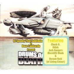 DJ SPOOKY THAT SUBLIMINAL KID & DAVE LOMBARDO - DRUMS OF DEATH (1 CD) - WYDANIE AMERYKAŃSKIE
