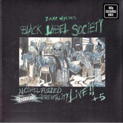 BLACK LABEL SOCIETY - ALCOHOL FUELED BREWTALITY LIVE!! + 5 (2 LP) - LIMITED 180 GRAM BLUE VINYL PRESSING
