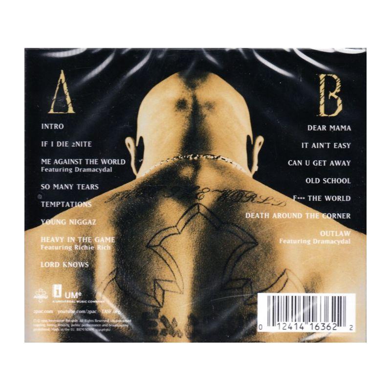 2PAC - ME AGAINST THE WORLD (1 CD) - najlepszamuzyka pl