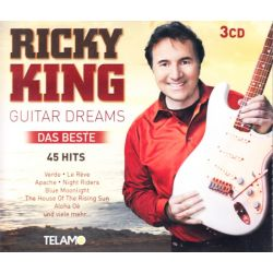 KING, RICKY - GUITAR DREAMS: DAS BESTE (3 CD)