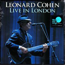 COHEN, LEONARD - LIVE IN LONDON (3 LP + MP3 DOWNLOAD) - 180 GRAM PRESSING
