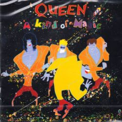 QUEEN - A KIND OF MAGIC (1 CD) - 2011 REMASTER