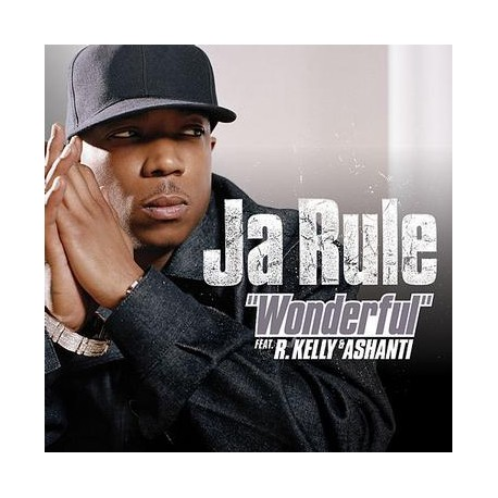 JA RULE - WONDERFUL FEAT  R KELLY & ASHANTI (CD-SINGLE)