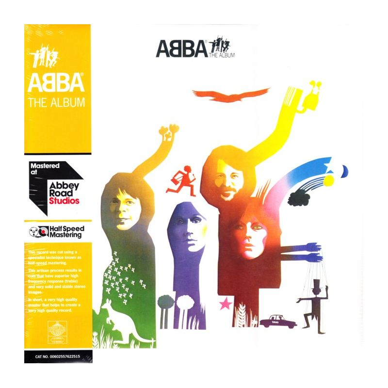 Abba The Album 2 Lp 45rpm Half Speed Mastering 180