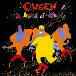 QUEEN - A KIND OF MAGIC (1LP) - WYDANIE AMREYKAŃSKIE