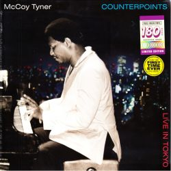 TYNER, MCCOY - COUNTERPOINTS: LIVE IN TOKYO (1 LP) - CONCORD EDITION - 180 GRAM PRESSING
