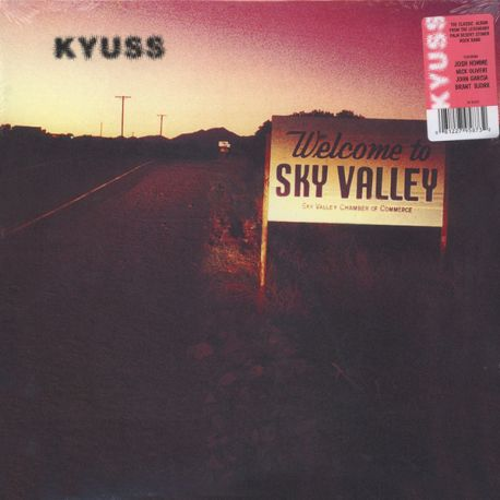 KYUSS - WELCOME TO SKY VALLEY (1LP) - 180 GRAM PRESSING