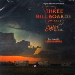 THREE BILLBOARDS OUTSIDE EBBING, MISSOURI [TRZY BILLBOARDY ZA EBBING, MISSOURI] - CARTER BURWELL (1 CD) - WYDANIE AMERYKAŃSKIE
