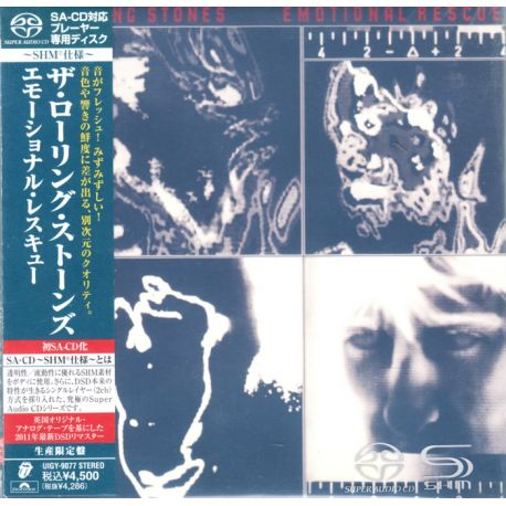 Rolling Stones The Emotional Rescue 1 Sacd Shm