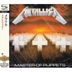 METALLICA - MASTER OF PUPPETS (1 SHM-CD) - WYDANIE JAPOŃSKIE