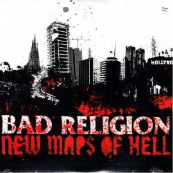 BAD RELIGION - NEW MAPS OF HELL (1 LP) - SMOKE VINYL - WYDANIE AMERYKAŃSKIE