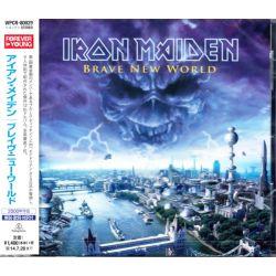 IRON MAIDEN - BRAVE NEW WORLD (1 CD) - WYDANIE JAPOŃSKIE