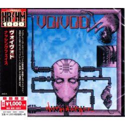 VOIVOD - NOTHINGFACE (1 CD) - WYDANIE JAPOŃSKIE