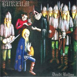 BURZUM - DAUDI BALDRS (1 LP) - 180 GRAM PRESSING