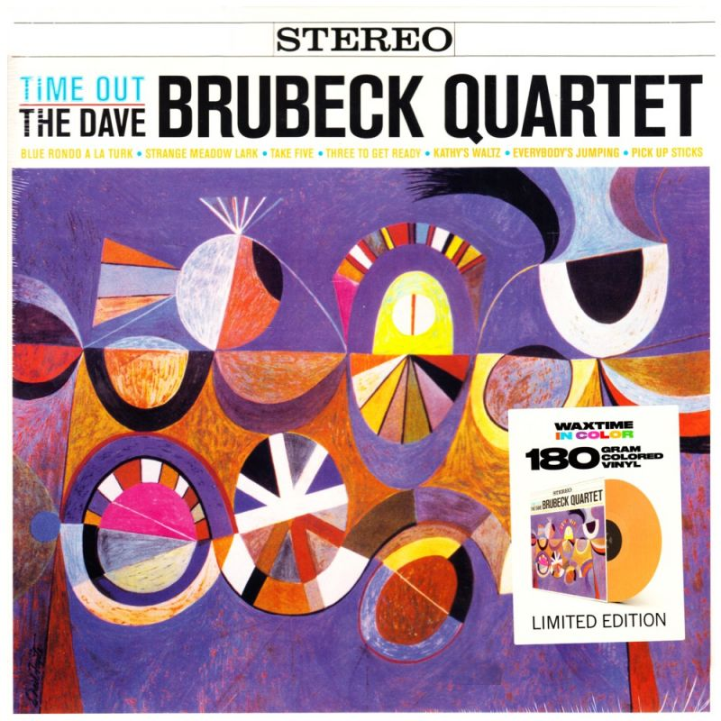 Brubeck Dave Time Out 1 Lp Wax Time Coloured