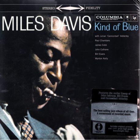 DAVIS, MILES - KIND OF BLUE (1LP) - LEGACY VINYL EDITION - 180 GRAM PRESSING - WYDANIE AMERYKAŃSKIE