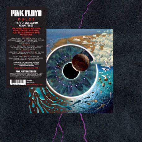 PINK FLOYD - PULSE (4 LP) - 180 GRAM PRESSING REMASTERED VINYL BOX SET - WYDANIE AMERYKAŃSKIE