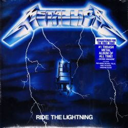 METALLICA - RIDE THE LIGHTNING (1LP) - 2016 REMASTERED EDITION - WYDANIE AMERYKAŃSKIE